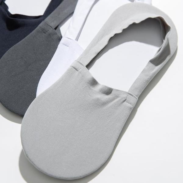 促銷 5雙船襪男士船襪淺口硅膠防滑隱形薄款夏季純棉防臭運動韓國ins潮