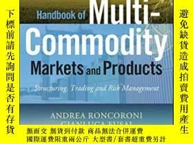 二手書博民逛書店Handbook罕見Of Multi-commodity Markets And ProductsY25556