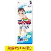 GOO.N 日本大王境內版-紙尿褲XL(42片X4包)