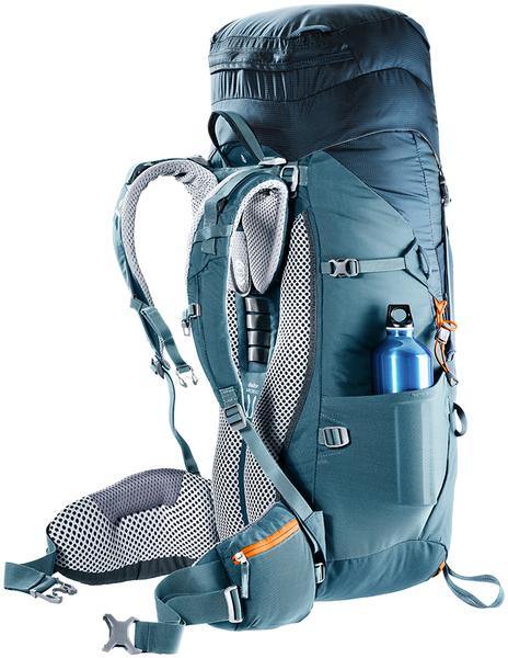 丹大戶外【Deuter】德國 拔熱式透氣背包 45+10SL AIRCONTACT LITE 藍 3340218 戶外/旅行/登山