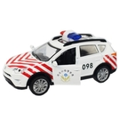 國道警車 聲光迴力合金警車 (紅白休旅車)/一個入(促220) D760 警察車 ST安全玩具-生ST9665