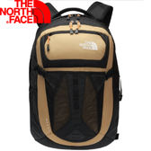 【The North Face 31L 15吋電腦背包 土黃褐/橘】 NF00CLG4/電腦背包/後背包/電腦包/通勤包★滿額送