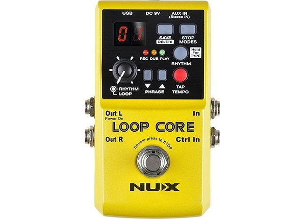 ☆唐尼樂器︵☆免運費送短導 NUX LOOP CORE 循環錄音 單顆 效果器 可錄6小時