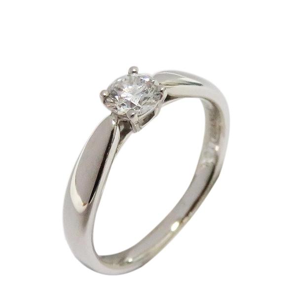 Tiffany & Co 蒂芬妮 0.27ct公主方形切割鑽石戒指 Princess cut PT950 【BRAND OFF】