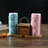 創意精品英式骨瓷下午茶杯碟簡約咖啡杯 免運快速出貨