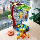 猴子蕩秋千親子互動游戲教具益智玩具早教啟蒙兒童聚會桌游3-6歲-ifashion