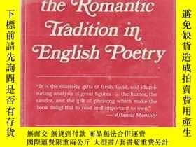 二手書博民逛書店Mythology罕見And The Romantic Tradition In English Poetry