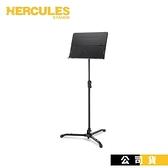 【南紡購物中心】海克力斯 大譜架 HERCULES BS301B 坐立二用 譜面板無孔 管弦樂團樂譜架