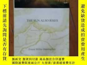 二手書博民逛書店英文版罕見海明威 The Sun Also Rises 太陽照常升起Y198274 海明威 譯林