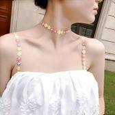 夏季新款肩帶頸圈刺繡內衣帶雙肩寬鉤調整型 LQ4910『夢幻家居』