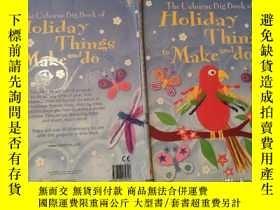 二手書博民逛書店the罕見Osborne big book of holiday things to make and do 奧斯