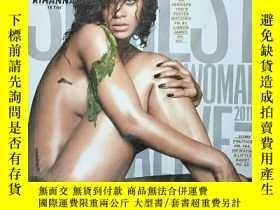 二手書博民逛書店【黎漢娜專區】Esquire罕見US 2011年11月號 時尚雜誌 Rihanna 蕾哈娜Y230394
