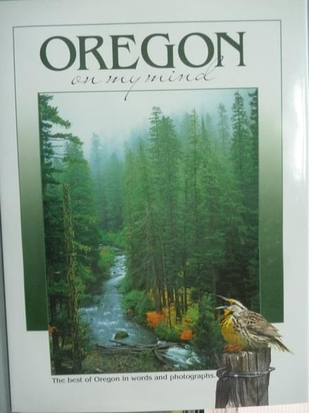 【書寶二手書T2/攝影_QXC】Oregon-on My Mind_The Globe Pequot Press
