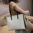 手提包 大包包女包新款2020潮韓版百搭斜背包/側背包簡約托特包時尚大容量單肩包