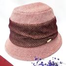羊毛呢帽子-秋冬保暖羊毛混紡優雅淑女漁夫帽FLYSPIN(17AW-S005)