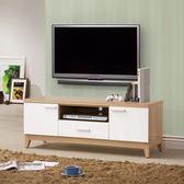 【森可家居】金詩涵4尺電視櫃 8ZX575-5 長櫃 木紋質感 日系 無印風 北歐風