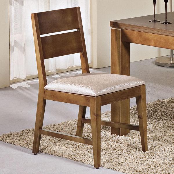 【森可家居】貝爾柚木餐椅 7JX246-3 椅子