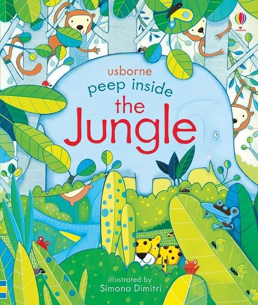 Peep Inside The Jungle 瞧瞧看翻頁操作書:叢林生活