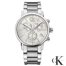 CalvinKlein  都會型男三眼計時石英腕錶  K2G27146