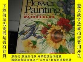 二手書博民逛書店Basic罕見Flower Painting (Techniques In Watercolor)Y25524