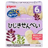 【愛吾兒】貝親 pigeon 洋栖菜仙貝-25g(2枚X6袋)6M+ 日本製造