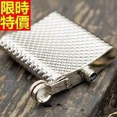 隨身酒壺-金屬火山紋精緻不銹鋼可攜式8盎司攜帶瓶66k22[時尚巴黎]