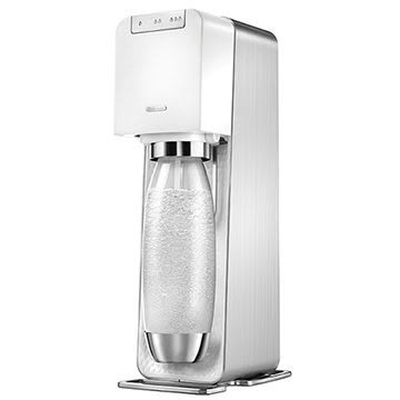 英國SodaStream-電動式氣泡水機Power source旗艦機(白)