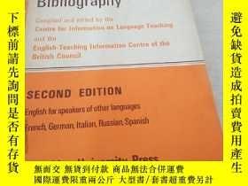 二手書博民逛書店A罕見LANGUAGE-TEACHING BIBIIOGRAPH