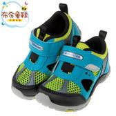 《布布童鞋》Moonstar日本湖水綠網布透氣兒童機能運動鞋(15~21公分) [ I8D387C ]