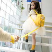 書包 兒童可愛雙肩包男女童幼兒園防走失1-3-5歲書包寶寶旅游母子背包2