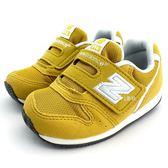 《7+1童鞋》小童 New Balance  FS996BYI  魔鬼氈 休閒 慢跑鞋 運動鞋 9398  黃色
