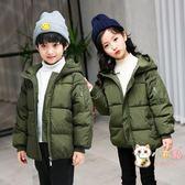 新款正韓外套兒童棉襖女童棉衣男童冬裝中大童加厚羽絨棉服潮 快速出貨免運