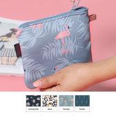韓版 清新 印花款衛生棉包 零錢包 收納包 數碼包 3C 收納 旅行【RB437】