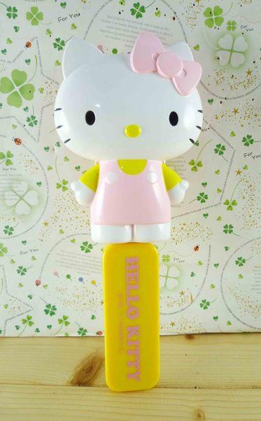 【震撼精品百貨】Hello Kitty 凱蒂貓-KITTY摺疊梳/隨身梳-粉立體