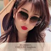 《Caroline》年度最新網紅款潮流百搭抗UV時尚太陽眼鏡 72097標檢局D74321