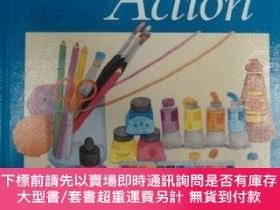 二手書博民逛書店Art罕見in Action: Grade 5-行動藝術:5年級Y414958 Guy Hubbard Cor