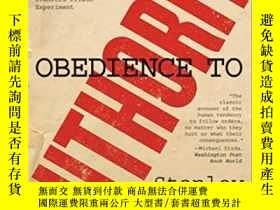 二手書博民逛書店Obedience罕見To Authority: An Expe