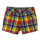 『小鱷魚童裝』吸濕排汗格紋短褲(08號~16號)533651