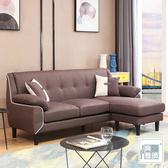 【典雅大師】西里拉L型沙發/二色咖啡色