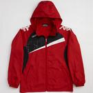KAPPA義大利時尚型男單層風衣(可拆帽)-紅