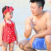 兒童泳衣 女童連體泳衣小童小孩1-2-3-4-5-6歲女寶寶溫泉可愛兒童女孩泳裝