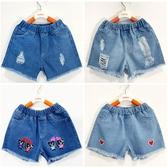 女童短褲外穿夏款中大童女寶寶百搭牛仔褲兒童破洞寬鬆韓版熱褲