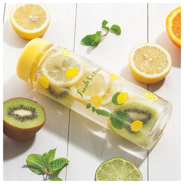 透明水瓶 檸檬 500ml LEMON NITORI宜得利家居