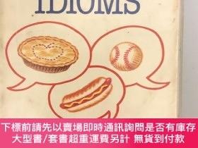 二手書博民逛書店Handbook罕見of commonly used American idiomsY445475 Barro