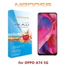 【愛瘋潮】NIRDOSA OPPO A74 (5G) 9H 鋼化玻璃 螢幕保護貼 疏水疏油 防刮 防爆