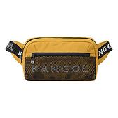 KANGOL 黃色輕便腰包-NO.6125178260