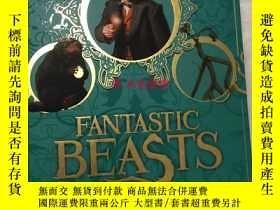 二手書博民逛書店罕見神奇的動物在哪裏年鑑 英版 fantastic beasts