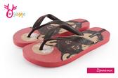 IPANEMA 童拖鞋 狼犬之月 夾腳拖鞋 巴西拖鞋 H5819#紅色◆OSOME奧森童鞋