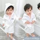 兒童睡衣連帽春秋男女童家居服浴袍珊瑚絨2寶寶法蘭絨睡袍1-3-5歲 快速出貨
