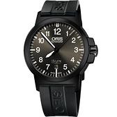 ORIS 豪利時 BC3 Advanced 日曆星期機械手錶-鐵灰x黑/42mm 73576414733-0742205B